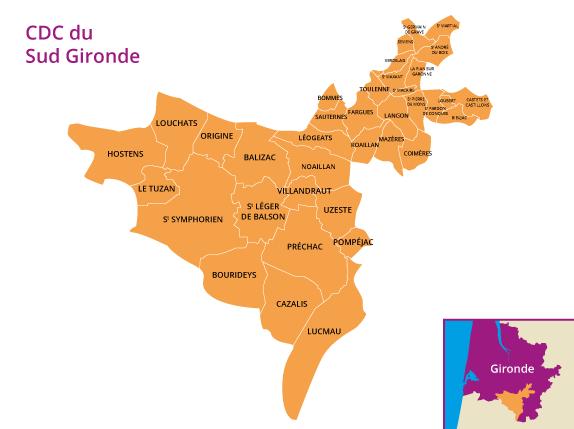 acheter en Sud Gironde