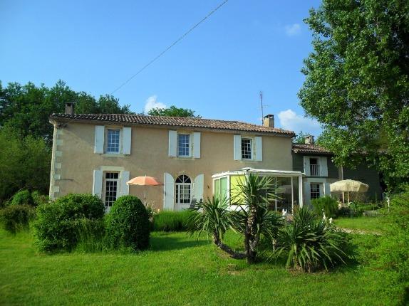 maison girondine en pierre en Gironde