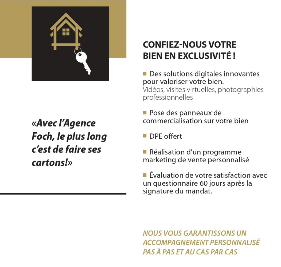 Agence immobiliere Tarbes Agence Foch
