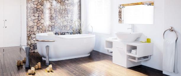 Aménagement salle de bains sous combles