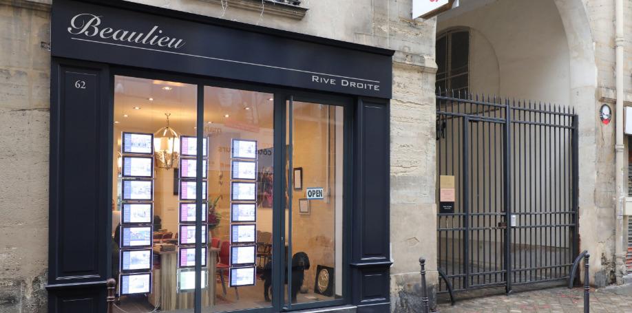 Beaulieu Rive Droite, 62 rue du Temple Paris 3ème (75003)