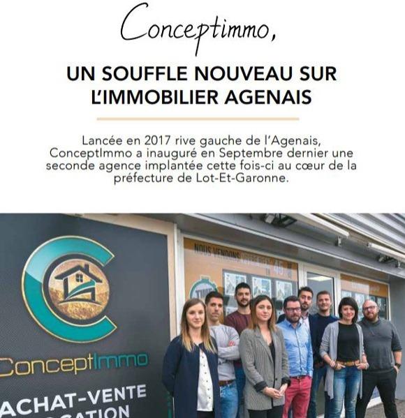Quidam article presse agence immobilière conceptimmo47