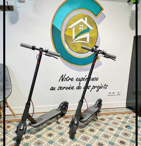 Trottinettes électriques pour Conceptimmo47 à Agen