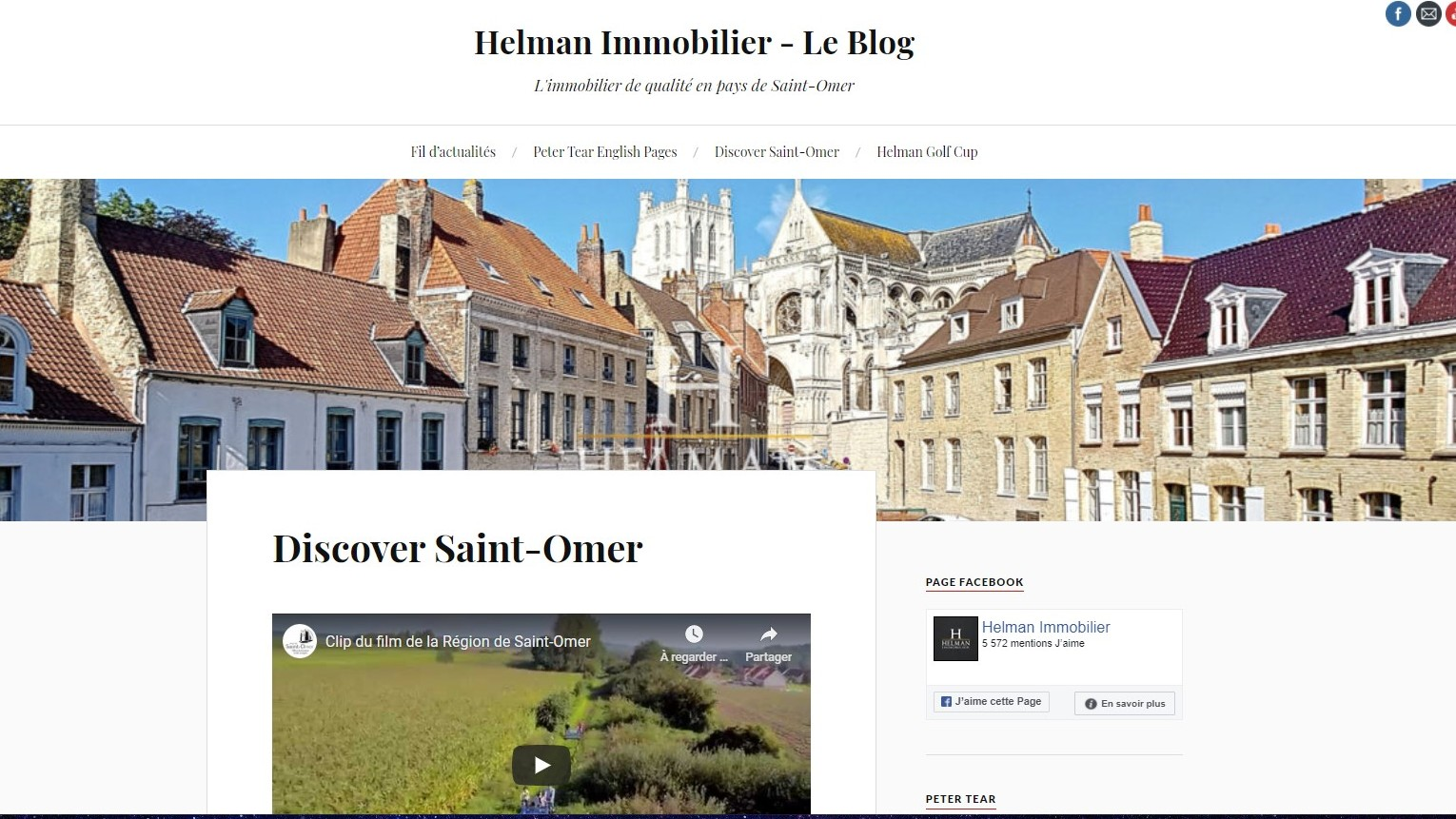 Helman Immobilier - Le blog / English pages