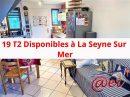 Appartement 40 m² La Seyne-sur-Mer  2 pièces