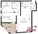 Appartement 57 m² Six-Fours-les-Plages  3 pièces