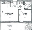 Appartement 35 m² Sillingy  2 pièces
