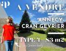 Appartement  83 m² 4 pièces ANNECY CRAN-GEVRIER