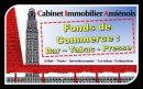 Fonds de commerce 118 m²   pièces