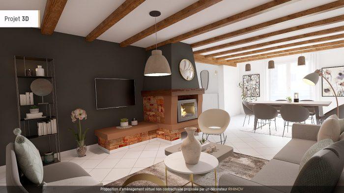 Maison Andlau  130 m²  5 pièces