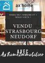 Appartement  Strasbourg  85 m² 3 pièces