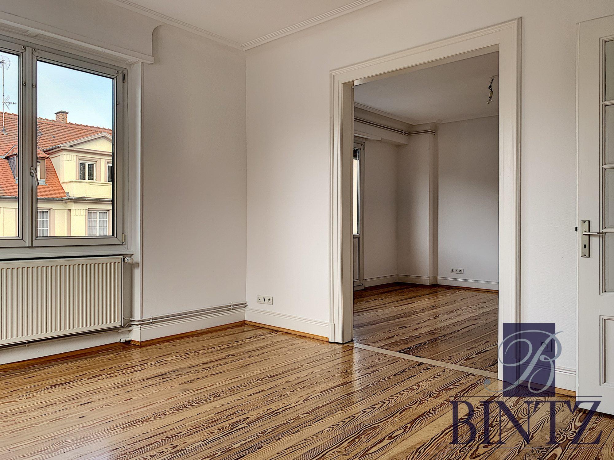 GRAND 4 PIÈCES RÉNOVÉ À NEUDORF - Devenez locataire en toute sérénité - Bintz Immobilier - 3