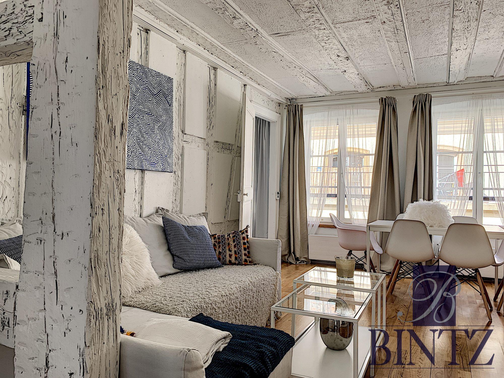 Appartement meublé 2 pièces hyper-centre - Devenez locataire en toute sérénité - Bintz Immobilier - 2