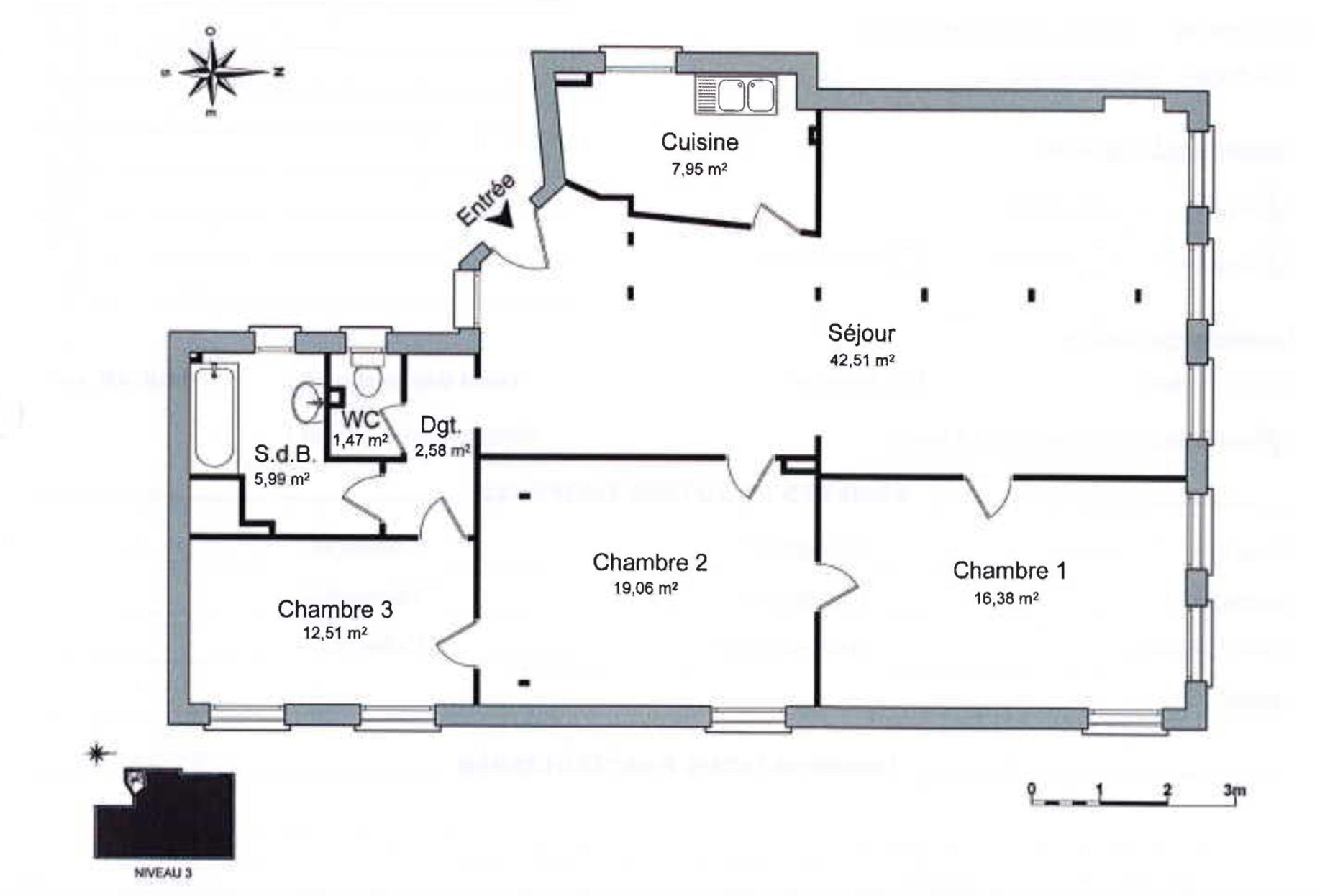 4 PIÈCES FACE À LA CATHÉDRALE - Devenez locataire en toute sérénité - Bintz Immobilier - 8