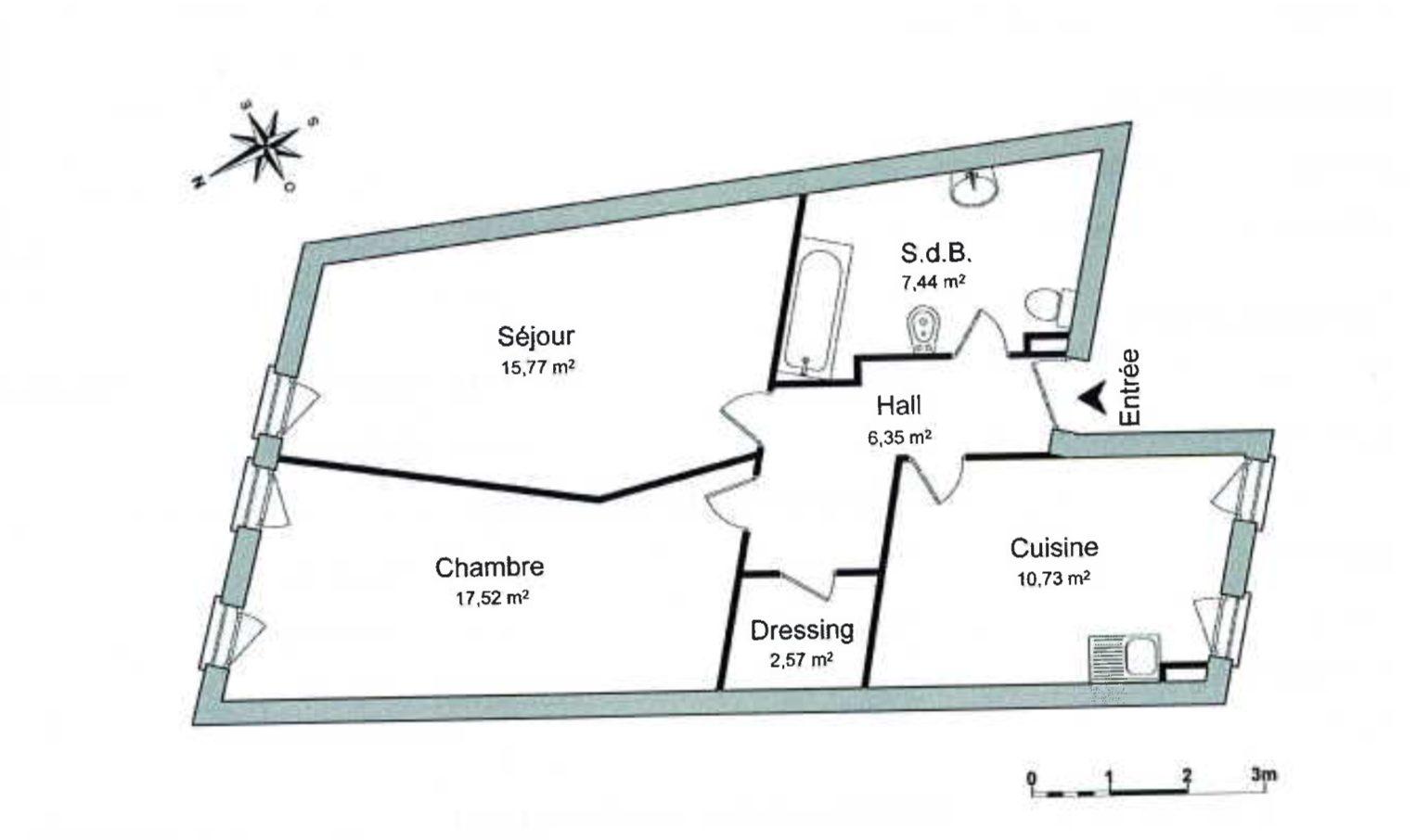 2 PIÈCES RUE DE ZURICH - Devenez locataire en toute sérénité - Bintz Immobilier - 2