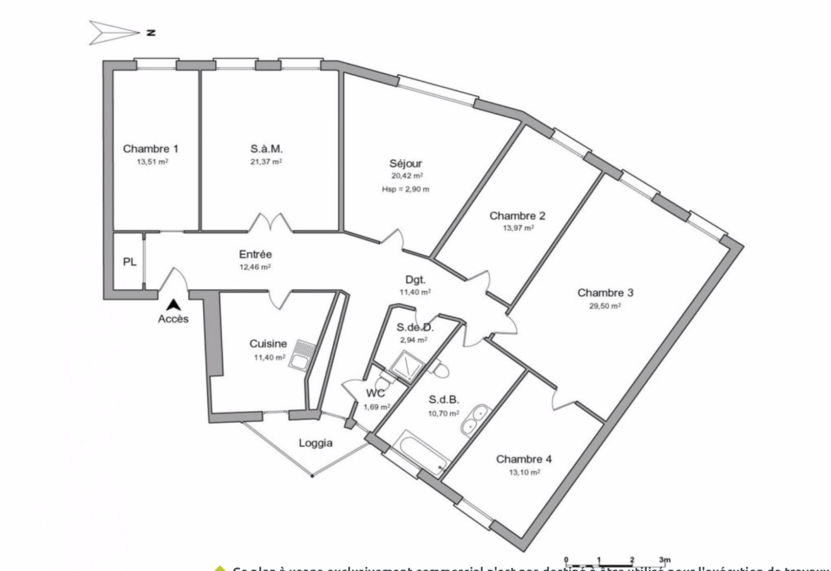 Exceptionnel 6pièces au Coeur de la NEUSTADT - Devenez locataire en toute sérénité - Bintz Immobilier - 4