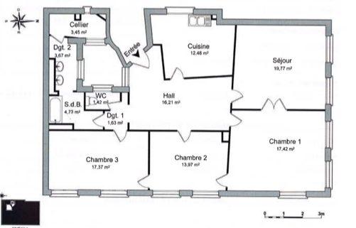 4 PIÈCES FACE A LA CATHÉDRALE - Devenez locataire en toute sérénité - Bintz Immobilier - 6