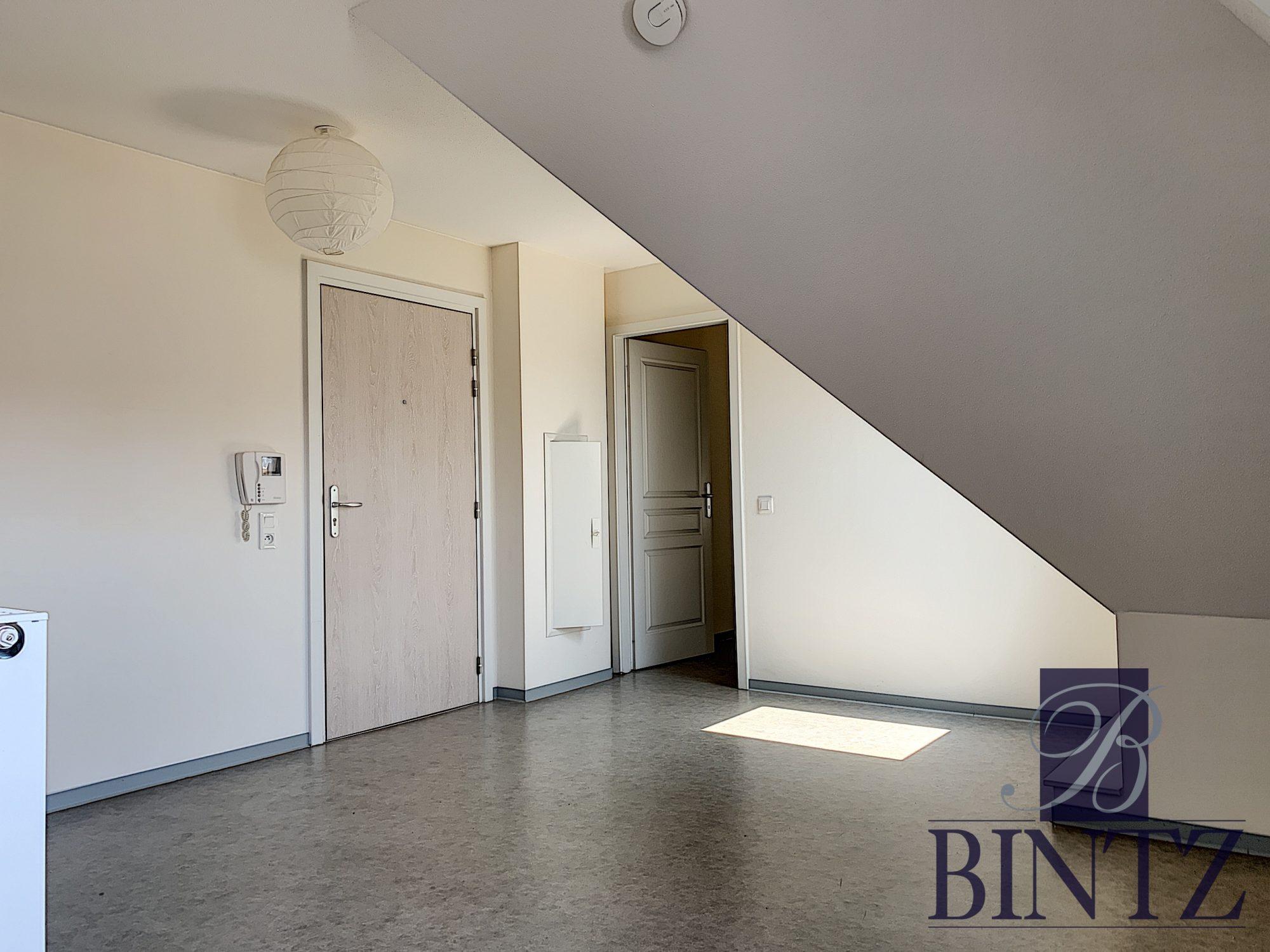 2 PIÈCES AVEC PARKING SCHILTIGHEIM - Devenez locataire en toute sérénité - Bintz Immobilier - 1