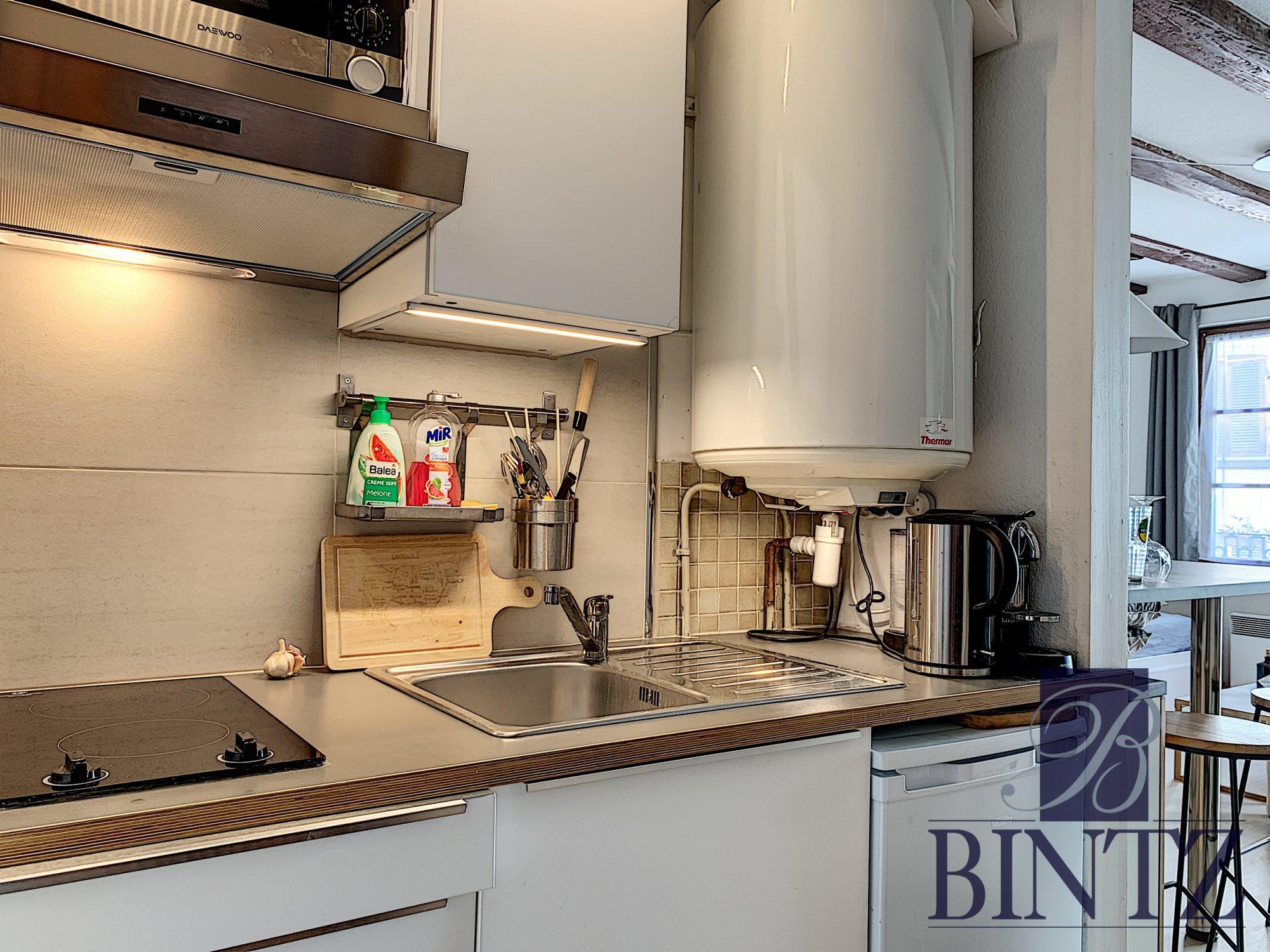 STUDIO MEUBLE HYPER CENTRE - Devenez locataire en toute sérénité - Bintz Immobilier - 7
