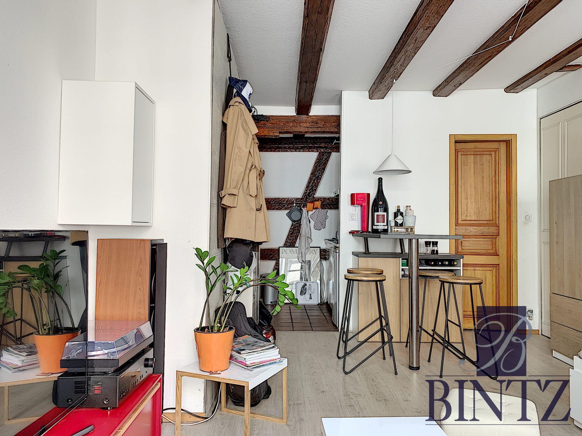 STUDIO MEUBLE HYPER CENTRE - Devenez locataire en toute sérénité - Bintz Immobilier - 2