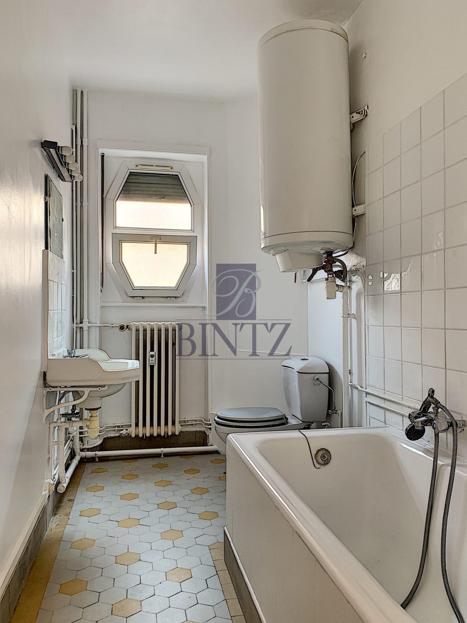 T1 AVEC BALCON KRUTENAU - Devenez locataire en toute sérénité - Bintz Immobilier - 5