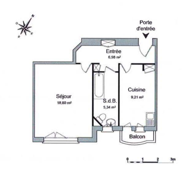 T1 AVEC BALCON KRUTENAU - Devenez locataire en toute sérénité - Bintz Immobilier - 6