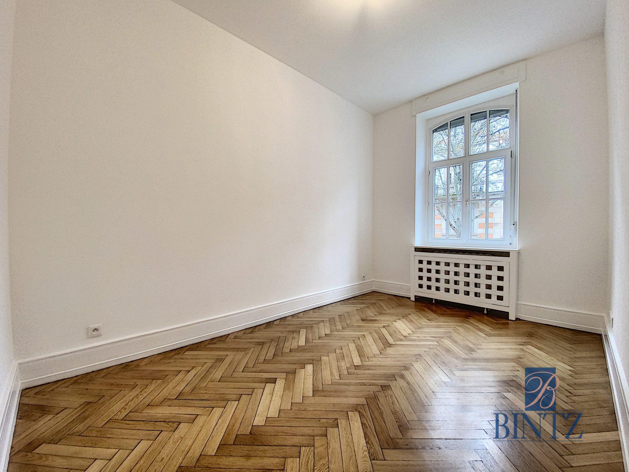 SUPERBE 4 PIECES ENTRE JARDIN BOTANIQUE ET ORANGERIE - Devenez locataire en toute sérénité - Bintz Immobilier - 14