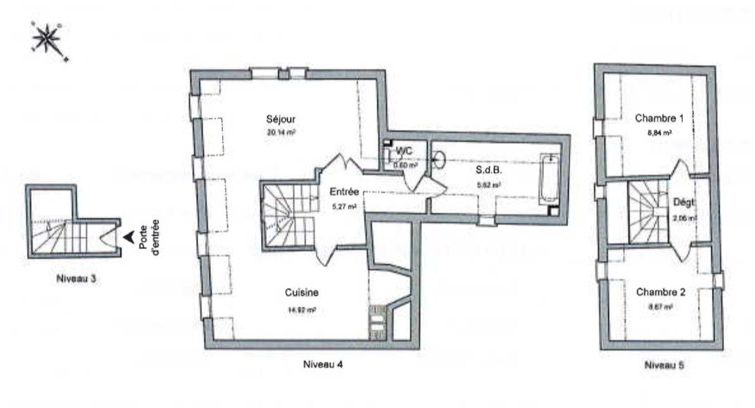 3 PIECES EN DUPLEX GRANDE ÎLE - Devenez locataire en toute sérénité - Bintz Immobilier - 5
