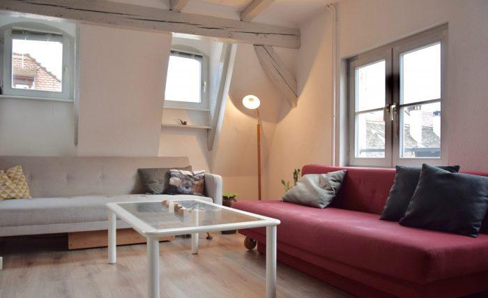 3 PIECES EN DUPLEX GRANDE ÎLE - Devenez locataire en toute sérénité - Bintz Immobilier