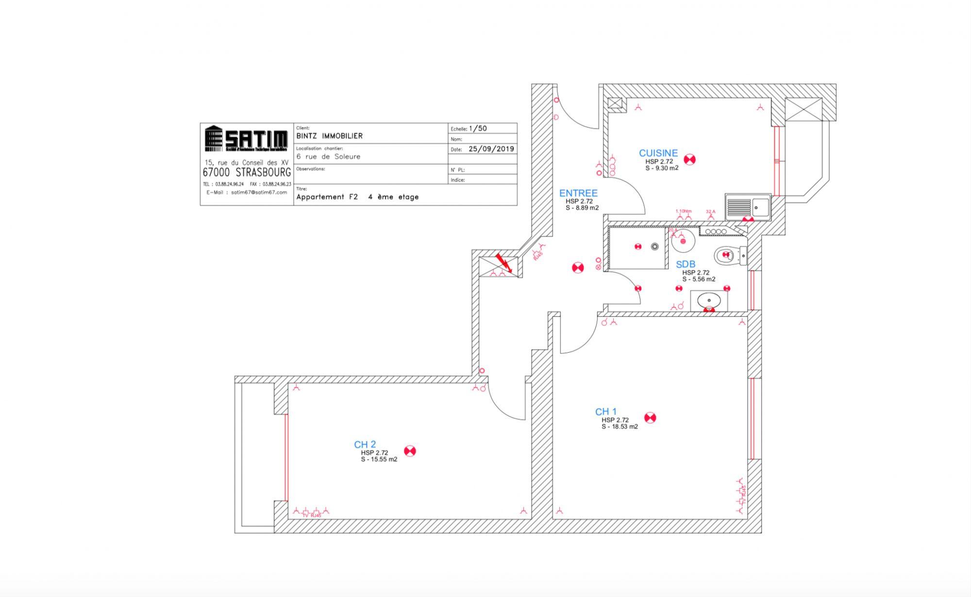 Krutenau – 2 pièces entièrement rénové - Devenez locataire en toute sérénité - Bintz Immobilier - 6