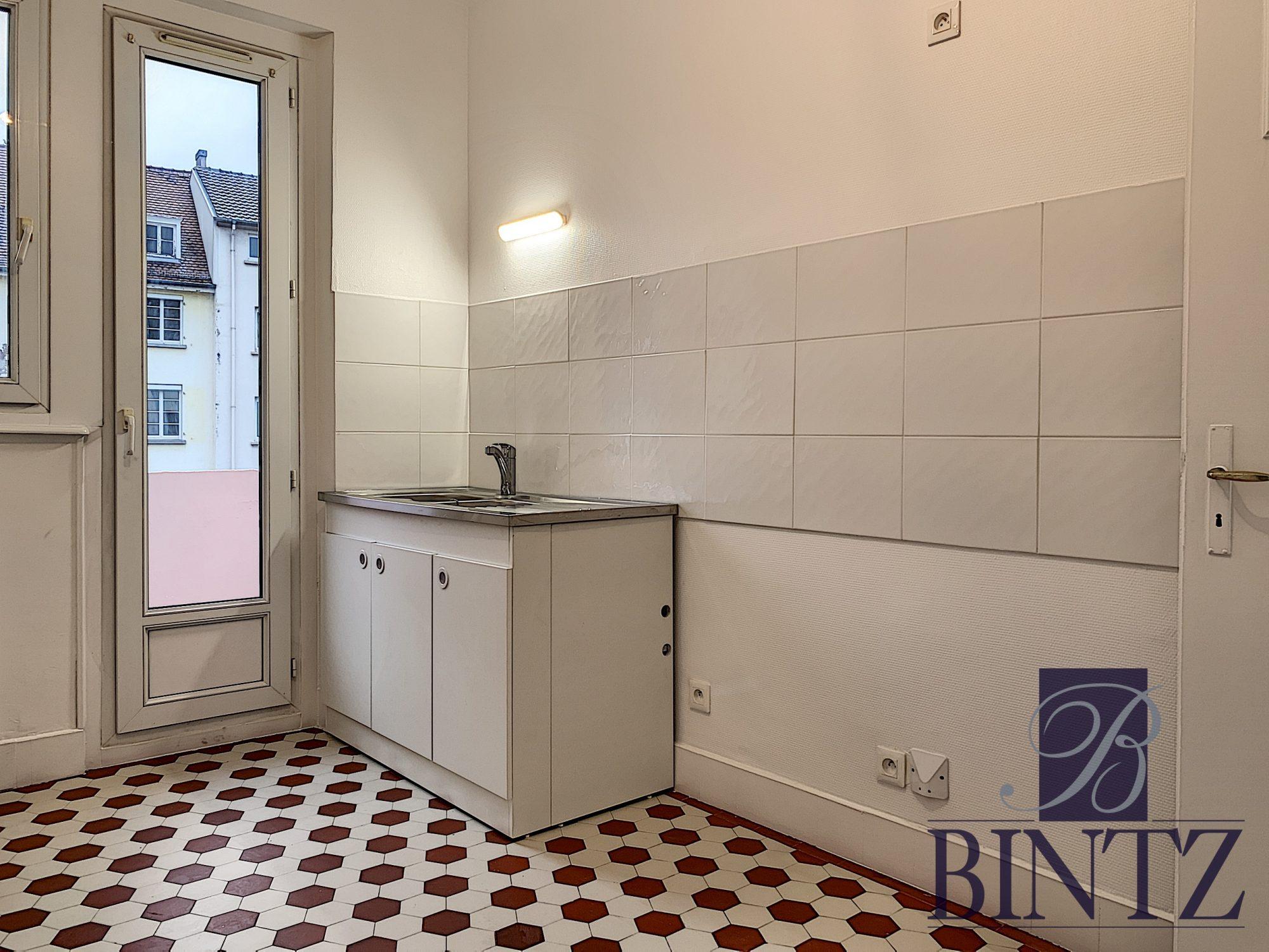 Krutenau – 2 pièces entièrement rénové - Devenez locataire en toute sérénité - Bintz Immobilier - 4