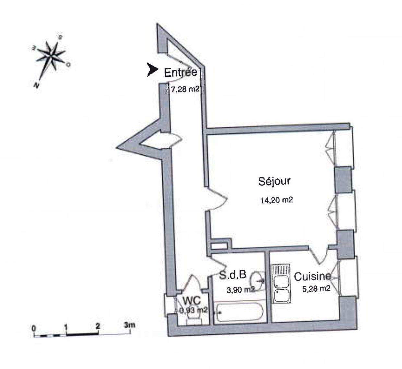 BEAU T1 MUSÉE D'ART MODERNE - Devenez locataire en toute sérénité - Bintz Immobilier - 3