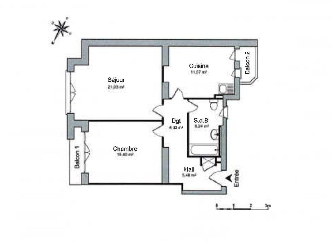 HORRIBLE 2 PIECES - Devenez locataire en toute sérénité - Bintz Immobilier - 2