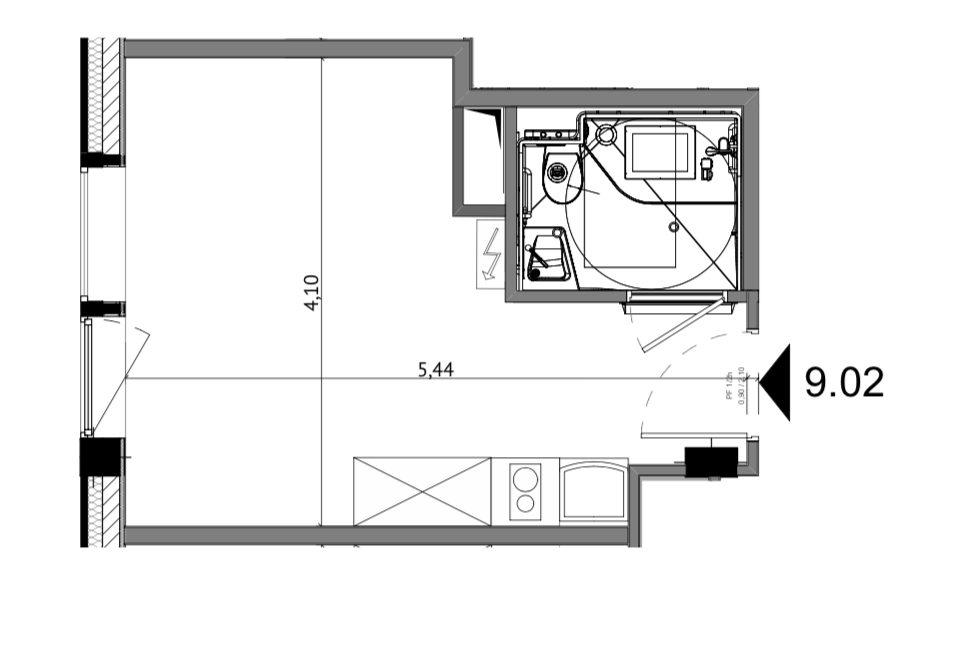 Studio dans résidence neuve - Devenez locataire en toute sérénité - Bintz Immobilier - 6