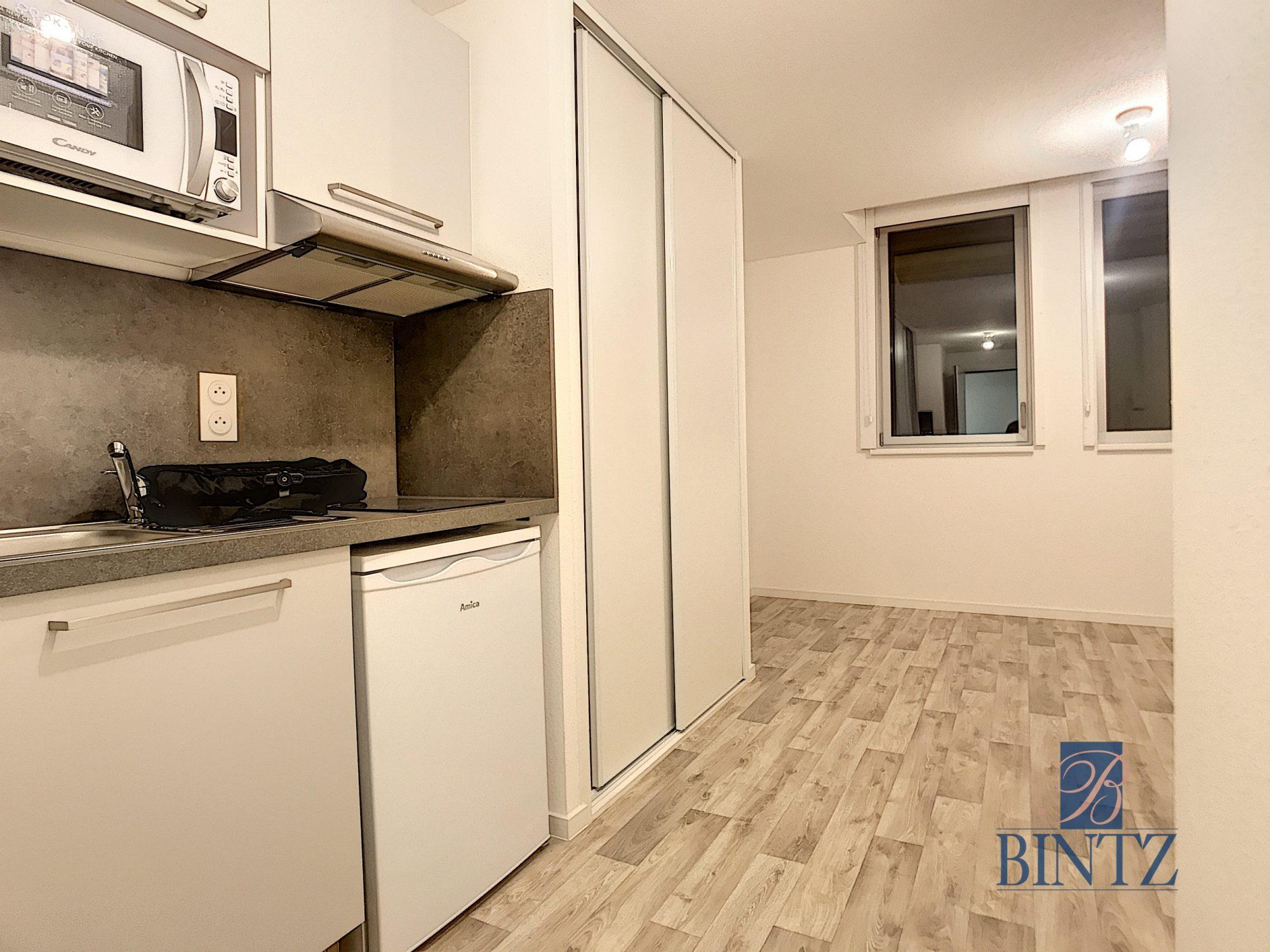 Studio dans résidence neuve - Devenez locataire en toute sérénité - Bintz Immobilier - 3