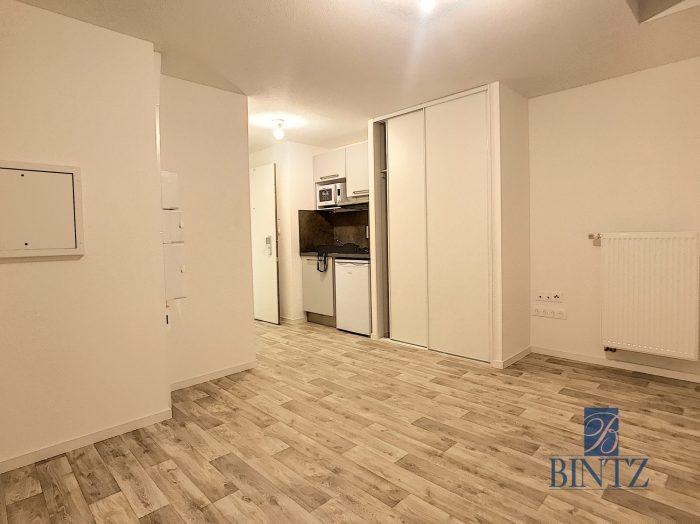 Studio dans résidence neuve - Devenez locataire en toute sérénité - Bintz Immobilier