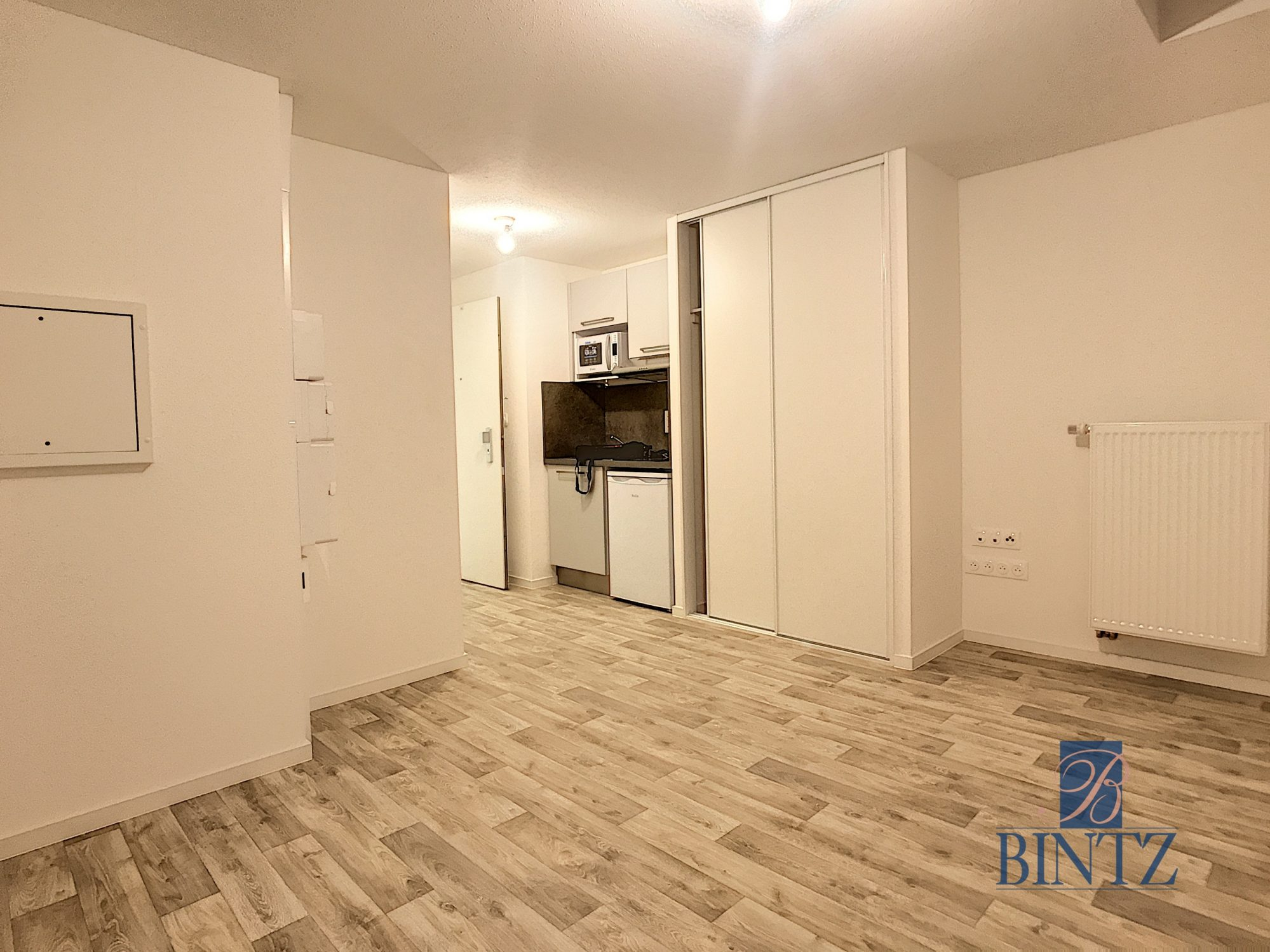 Studio dans résidence neuve - Devenez locataire en toute sérénité - Bintz Immobilier - 1
