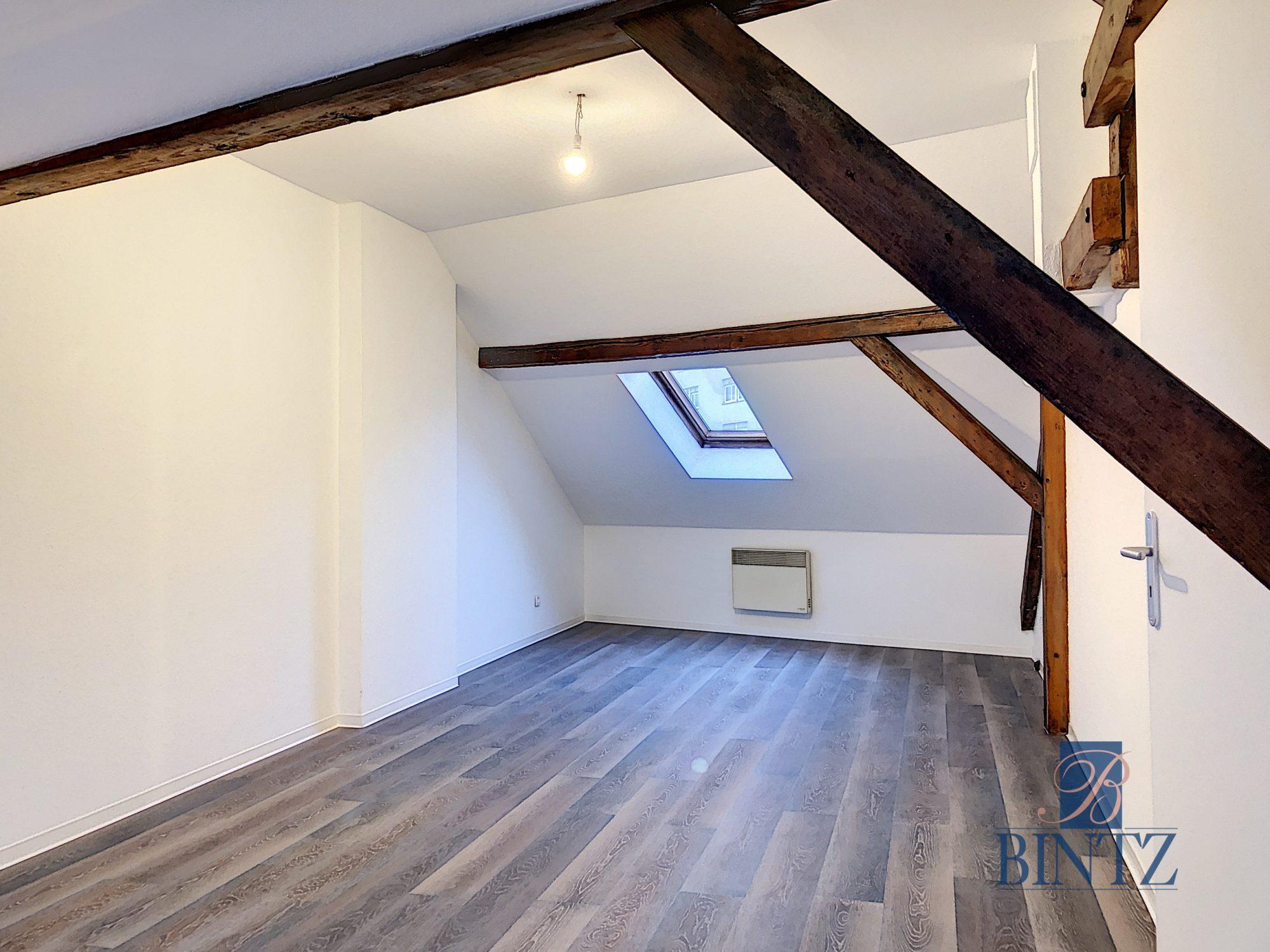 4 PIECES EN DUPLEX KRUTENAU - Devenez locataire en toute sérénité - Bintz Immobilier - 4