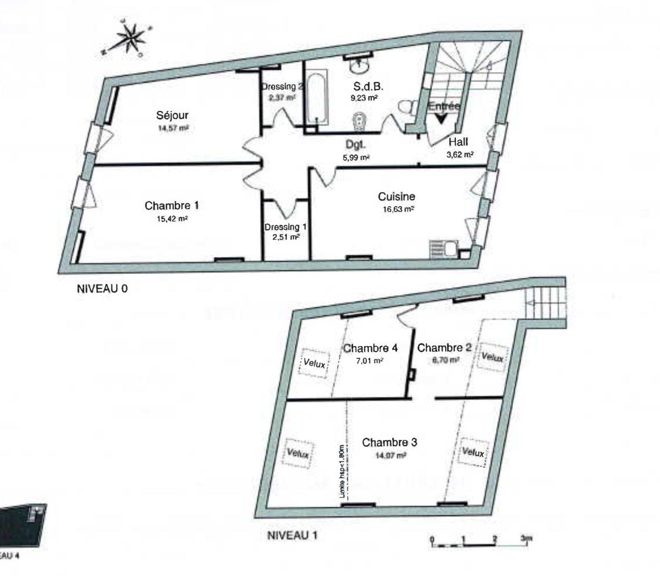 4 PIECES EN DUPLEX KRUTENAU - Devenez locataire en toute sérénité - Bintz Immobilier - 2