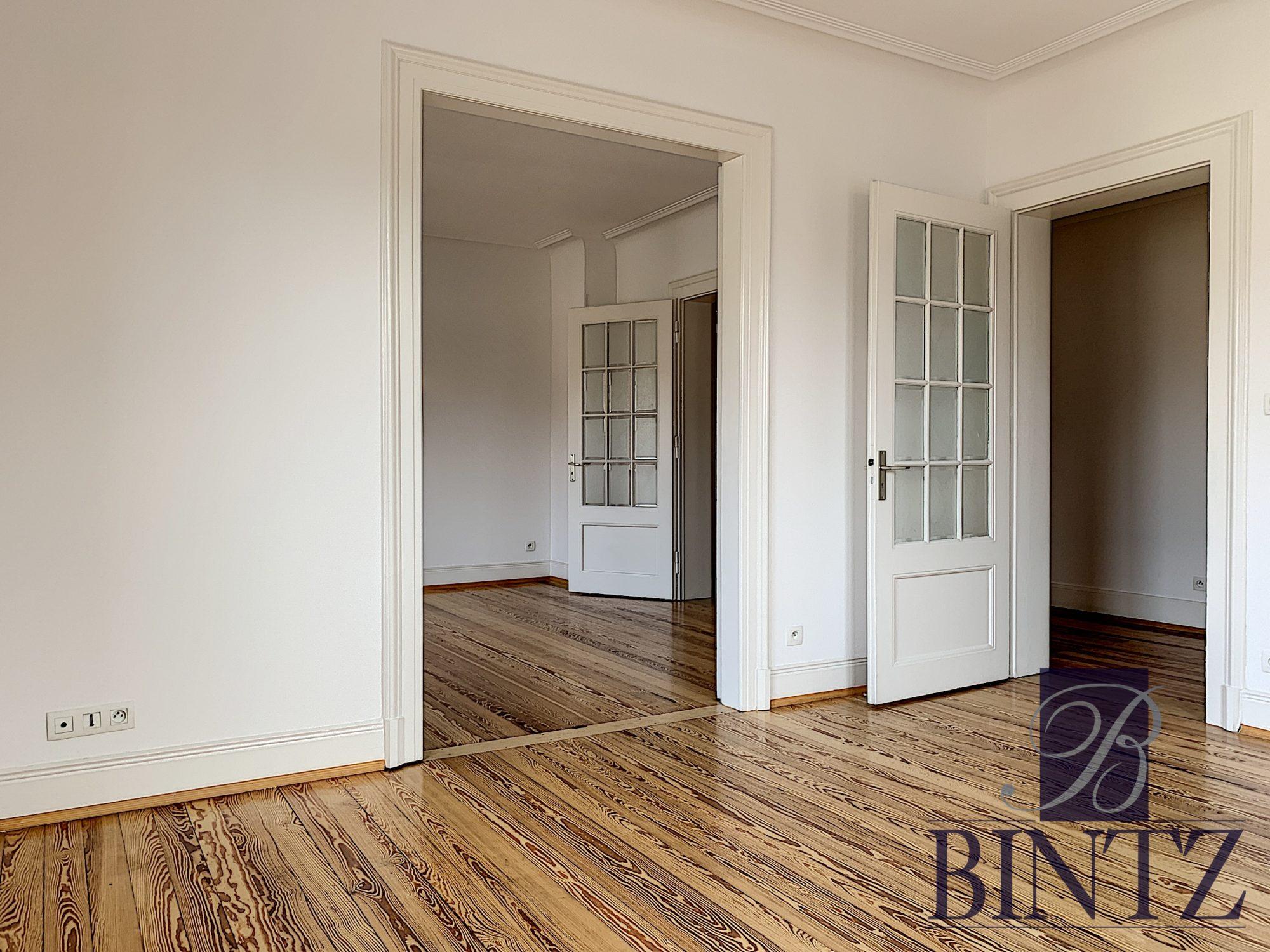 GRAND 5 PIÈCES RÉNOVÉ À NEUDORF - Devenez locataire en toute sérénité - Bintz Immobilier - 1