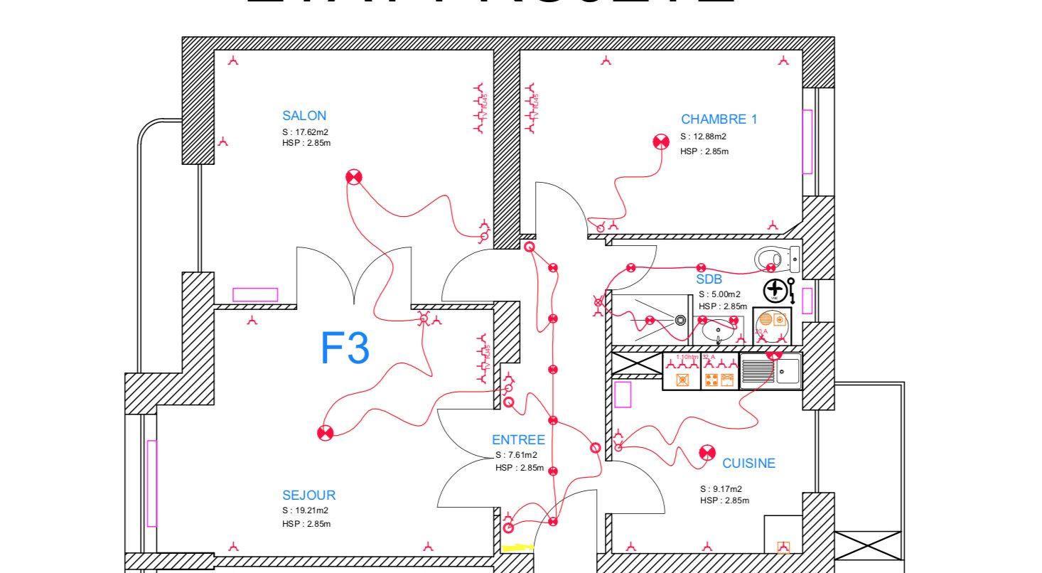 3 PIECES REFAIT A NEUF MUSEE D'ART MODERNE - Devenez locataire en toute sérénité - Bintz Immobilier - 6
