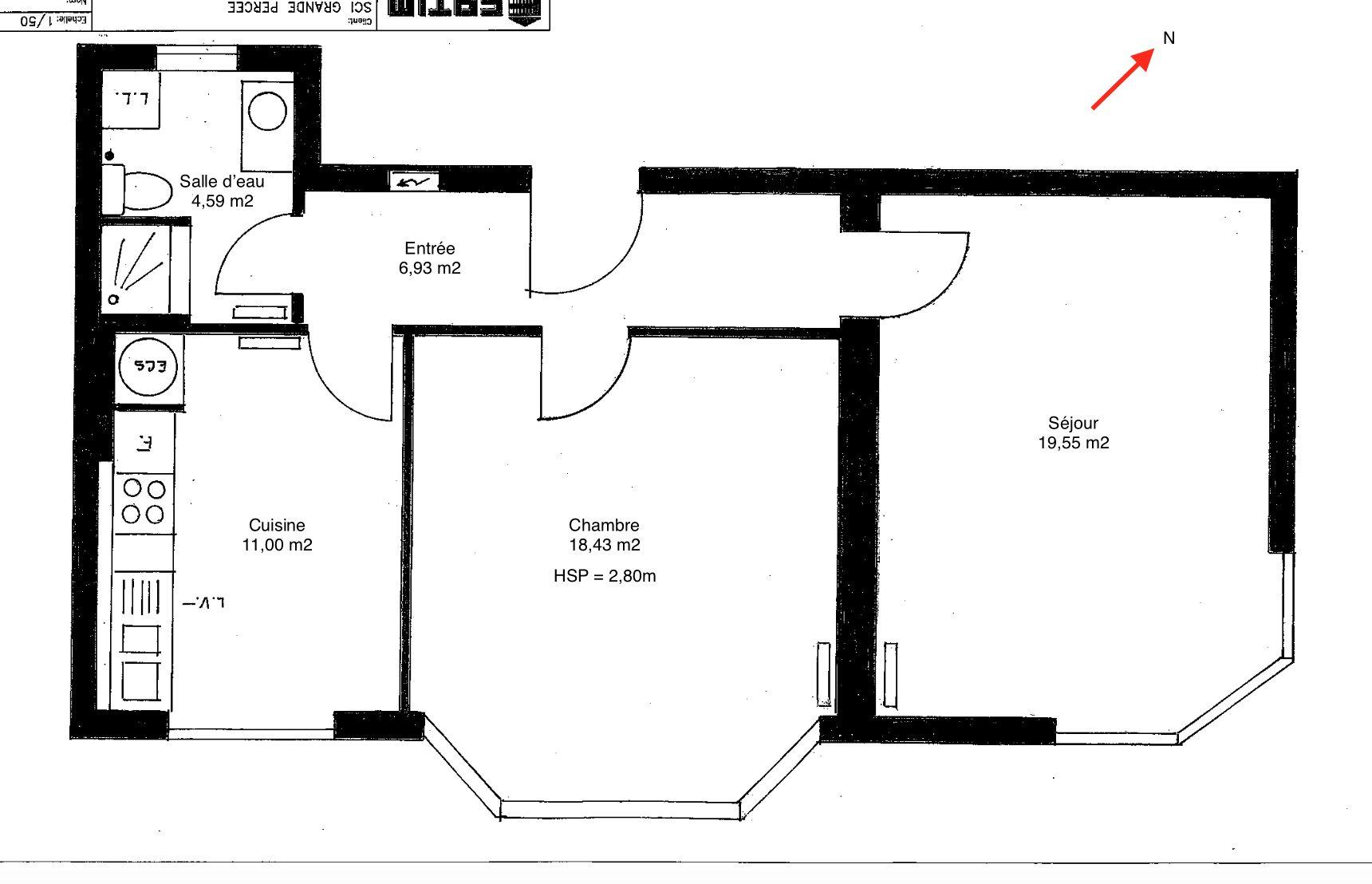 DEUX PIECES RENOVE ORANGERIE - Devenez locataire en toute sérénité - Bintz Immobilier - 5
