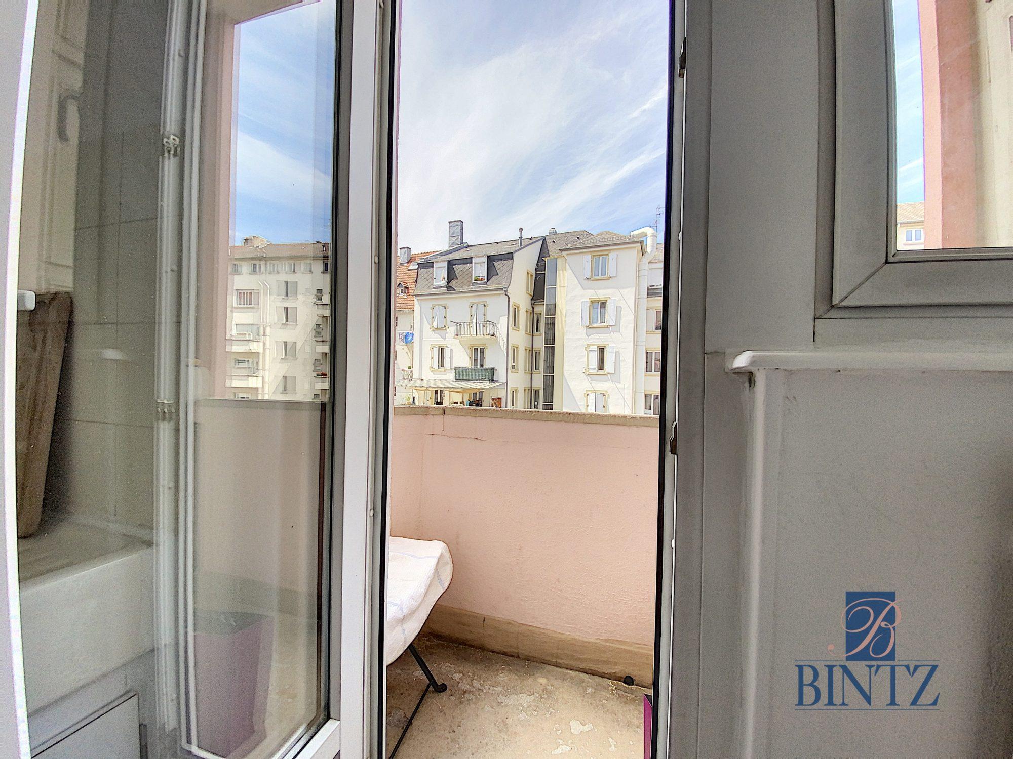 2 PIECES AVEC BALCON KRUTENAU - Devenez locataire en toute sérénité - Bintz Immobilier - 15
