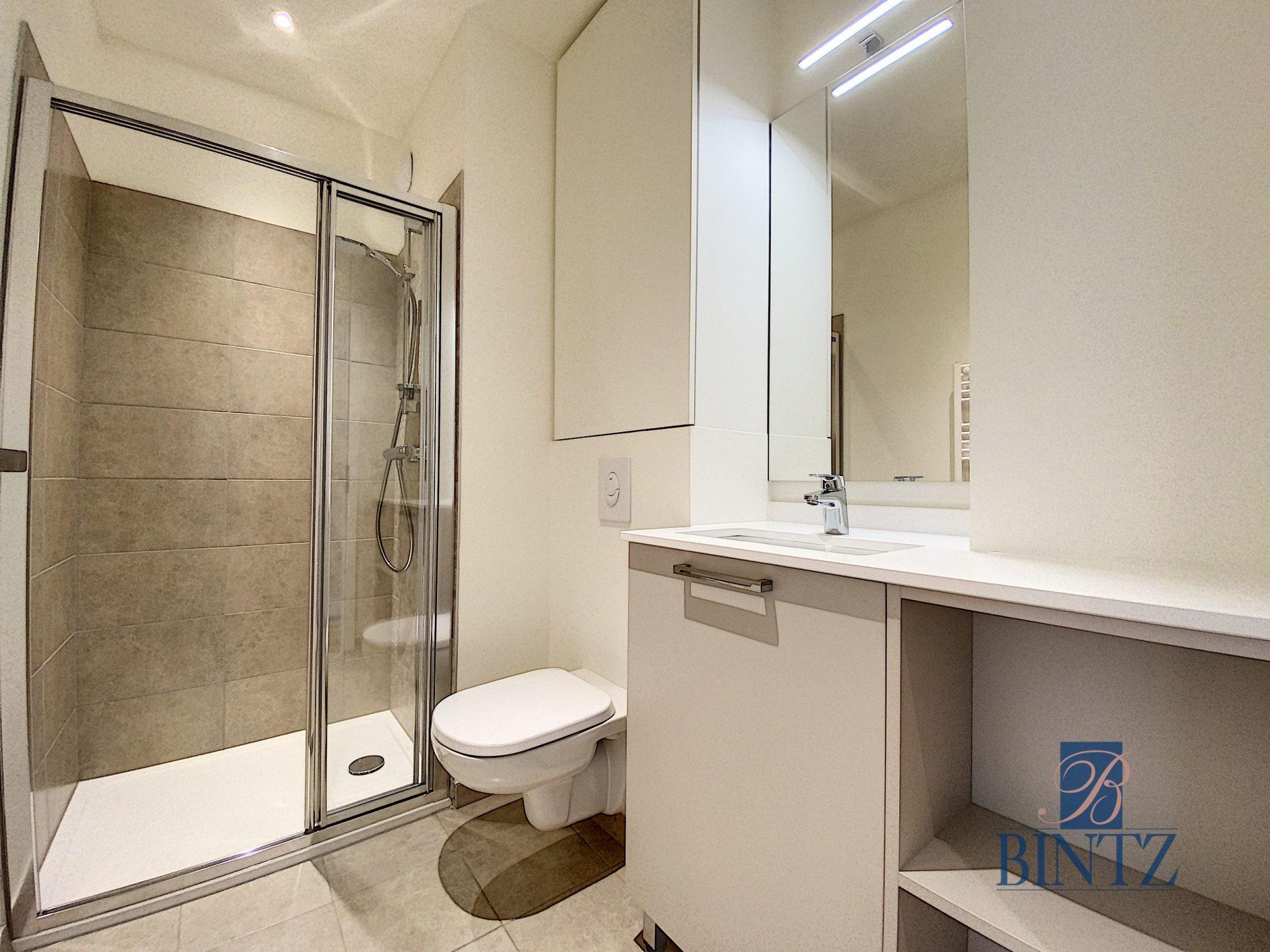 2 Pièces neuf avec balcon - Devenez locataire en toute sérénité - Bintz Immobilier - 6