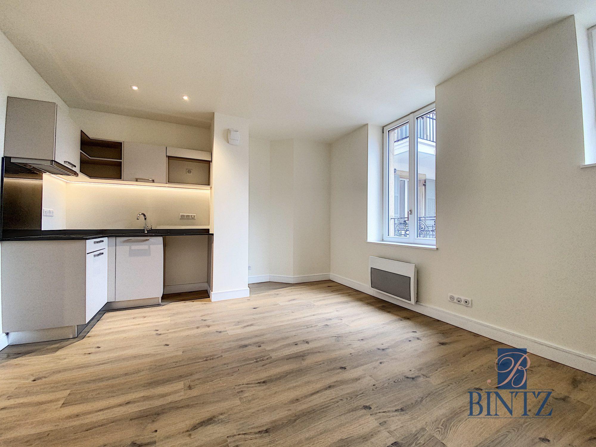 2 Pièces neuf avec balcon - Devenez locataire en toute sérénité - Bintz Immobilier - 1