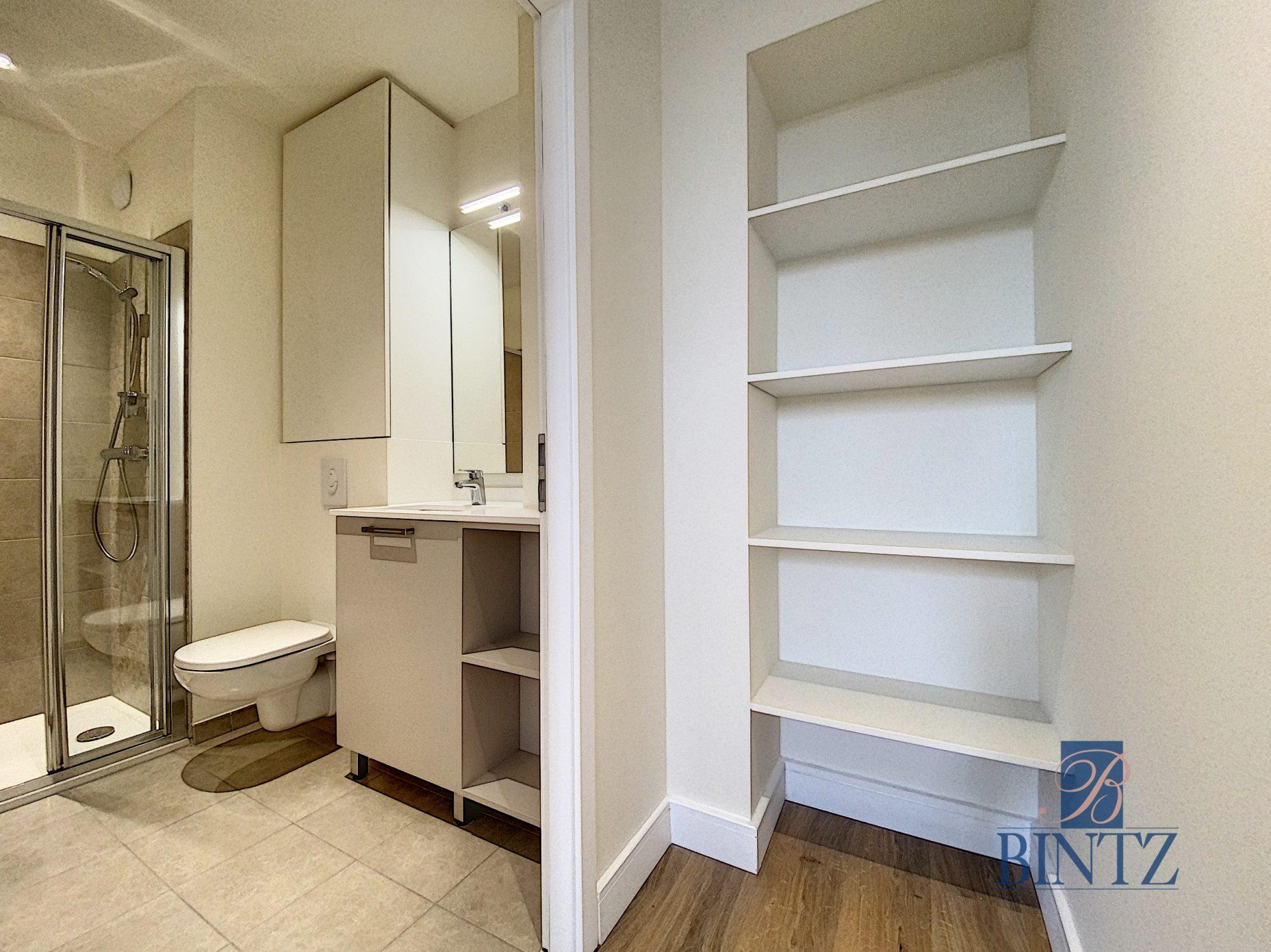 2 Pièces neuf avec balcon - Devenez locataire en toute sérénité - Bintz Immobilier - 12