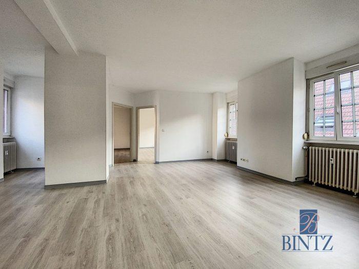 Beau T3 centre ville historique - Devenez locataire en toute sérénité - Bintz Immobilier