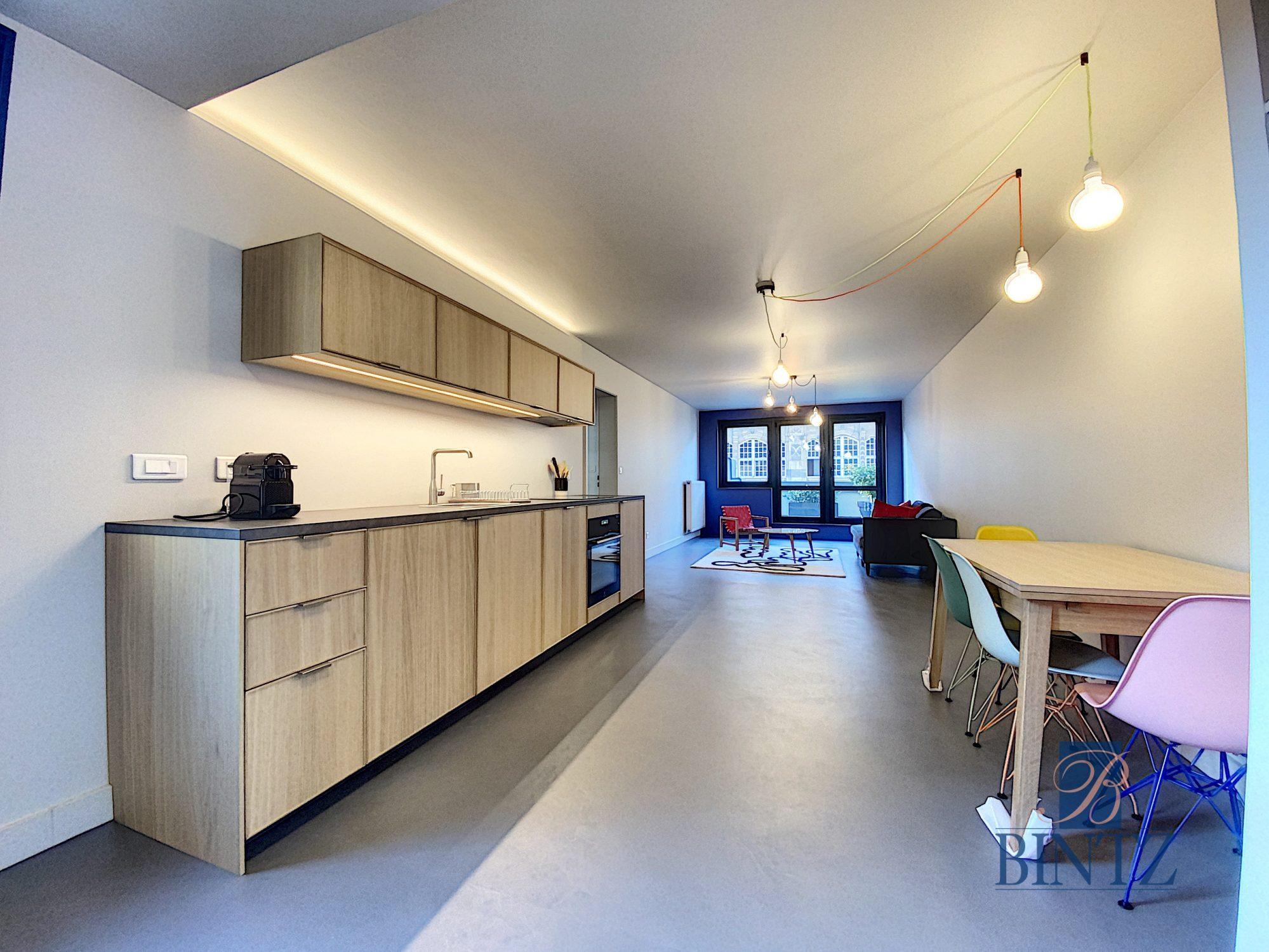 4 PIECES MEUBLE AVEC TERRASSE HYPER-CENTRE - Devenez locataire en toute sérénité - Bintz Immobilier - 10
