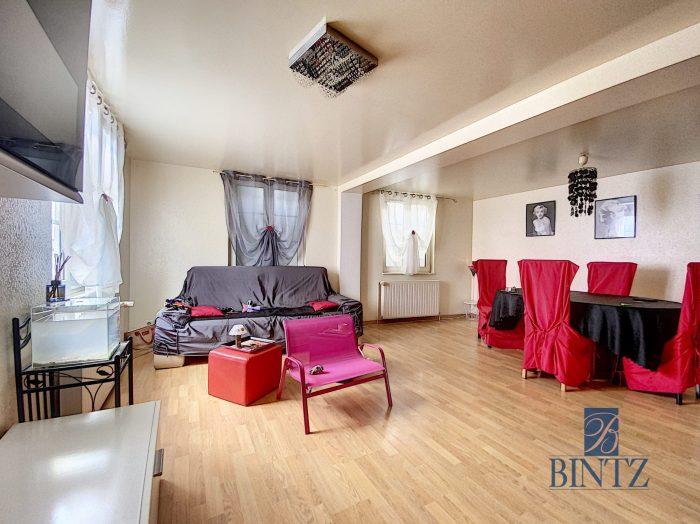 GRAND T4 MITTELHAUSBERGEN AVEC PARKING ET CAVE - Devenez locataire en toute sérénité - Bintz Immobilier