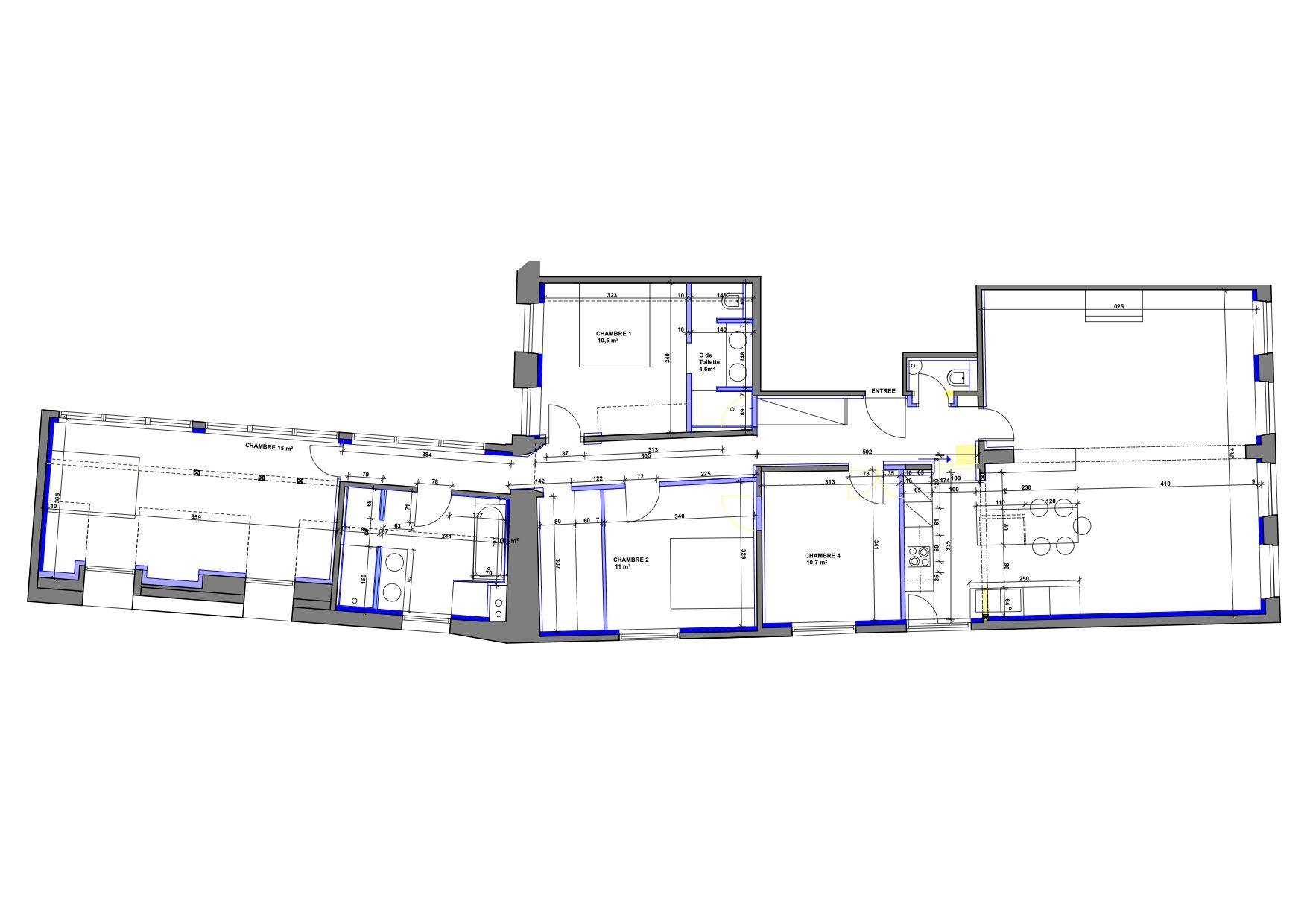 5 pièces d'exception face à la mairie - Devenez locataire en toute sérénité - Bintz Immobilier - 4